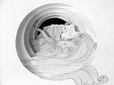 Harold Lloyd's tunnel book