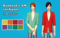 Sunny Simblr | Some colorful stuff for male sims! Here are...