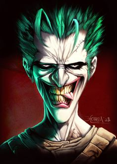 This looks like Miley Cyrus and the Joker had a son and he is going through his teenage bad-boy years