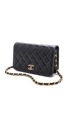 1eddd42db322 Vintage Chanel Mini Full Flap Bag