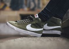 Nike Blazer Mid Premium - Urban Haze - 2016 (by titolo) Buy here: ASOS /  Overkill / End Clothing / More shops →