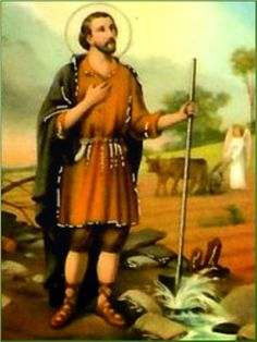 Glorioso San Isidro,   tu vida fue un ejemplo de humildad y sencillez,   de trabajo, caridady oración,   y solo quisiste vivir para...