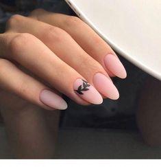 Matte Nail Art, Cute Acrylic Nails, Matte Almond Nails, Nail Designs Spring, Nail Art Designs, Nails Design, Perfect Nails, Gorgeous Nails, Milky Nails