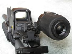 I've been on a budget with my build but I would love to have this sight/magnifier setups on my rifle.