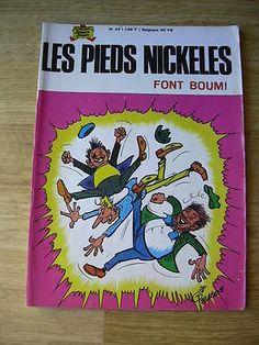 Les Pieds nickelés FONT BOUM N ° 34 1968