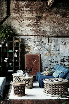 ❤️ Boho Love ❤️ ✤ If you like these bohemian spaces, you might also like my boards: Bohemian P☮rches , Bohemian Bathrooms, Bohemian Kitchens, Bohemian Outdoors, Bohemian Bedrooms, Bohemian Nest/Crib ✤