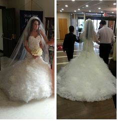 Albanian bride , my nice
