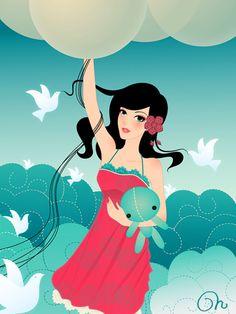 Balloon Trip by *CQcat on deviantART