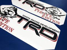 New Toyota Turbo Logo Decal Pair Door Handles Celica Supra MR2 Corolla AE86 TRD