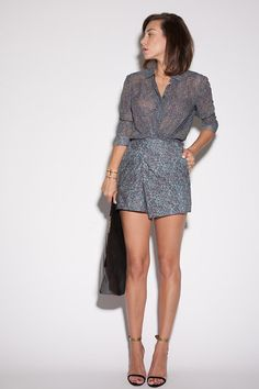 Christian Wijnants Romper, Celine Clutch, Isabel Marant  Sandals LS