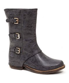 Another great find on #zulily! Black Tango Boot #zulilyfinds