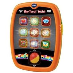 cool Touchscreen Tablet Toy 6 Educational Baby Toddler Toys Colored Lights Activity - For Sale