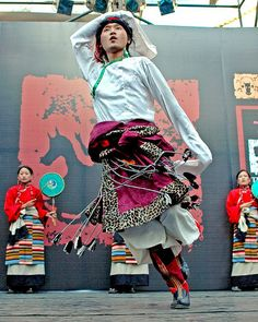 Tibetan Dancer from the Kala Ghoda Art Festival
