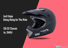 #bikerssafety Just Enjoy Being Along for The Ride #helmetssafety order now from www.yooshopper.com,http://www.yooshopper.com/inproduct/16404/547/sb-32-classic-black?lcId=145431