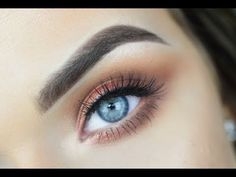 URBAN DECAY NAKED HEAT | EASY Smokey Eye Makeup Tutorial - YouTube