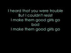 Good Girls Go Bad LYRICS