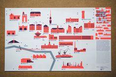 Bratislava má novú mapu, nájdete s ňou industriálne pamiatky Bratislava, Ibm, Company Logo, Tech Companies, Logos, Design, Logo