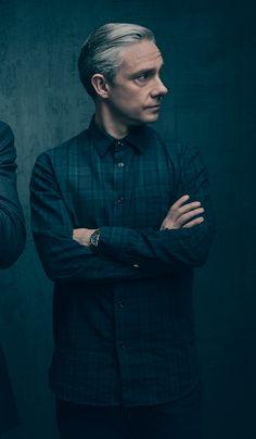 [HQ] Benedict Cumberbatch and Martin Freeman reunite in stylish new Sherlock image (x) Sherlock Bbc, Sherlock Holmes Benedict Cumberbatch, Benedict Sherlock, Sherlock Fandom, Sherlock Series, Watson Sherlock, Martin Freeman, Johnlock, Fanfiction