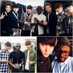 VIXX Snaps Photos with will.i.am and Usher at Global Citizen 2015 EARTH Day