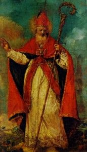 Francesco Guardi - San Nicolò benedicente - Castello di Miramare, Trieste