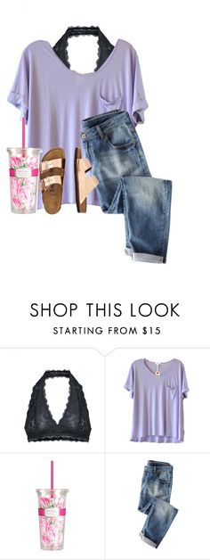 """Someone message me! I'm super bored!!"" by lydia-hh ❤ liked on Polyvore featuring Free People, Clu, Lilly Pulitzer and TravelSmith"