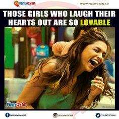 Laugh lots