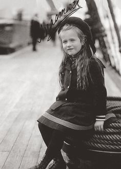 Grand Duchess Anastasia Nikolaevna Romanova, youngest daughter of Tsar Nicholas II, summarily executed by the Bolshevik secret police with her family on 17 July 1918