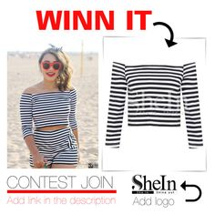 """""""SheIn contest JOIN!!!"""" by smasy ❤ liked on Polyvore featuring women's clothing, women, female, woman, misses and juniors"""