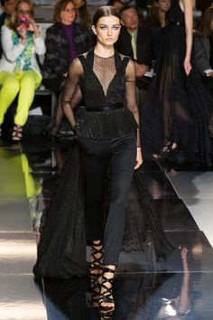 Trains and dots! Oh my! Jason Wu Fall 2013 RTW Collection