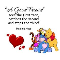 or Hold's on Tightly as the fourth, fifth, sixth, . Tears Keep's Falling until You feel just a Bit better Eeyore Quotes, Winnie The Pooh Quotes, Winnie The Pooh Friends, Meaningful Quotes, Inspirational Quotes, Healing Hugs, Christopher Robin, Pooh Bear, Best Friend Quotes