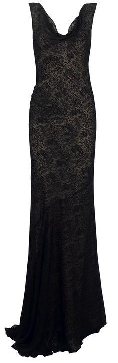 Black lace dress AW12 Monsoon