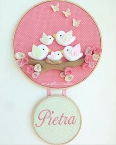 Baby Crafts, Felt Crafts, Diy And Crafts, Arts And Crafts, Baby Decor, Nursery Decor, Sewing Projects, Projects To Try, Felt Garland