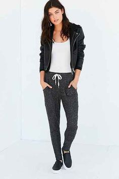 OUT FROM UNDER COZY RIBBED JOGGER PANT #fashion #gorgeous #beauty #gorgeous #trend #onlineshop #shoptagr