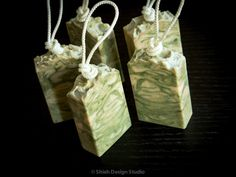 Tobacco & Bay Leaf Handmade Cold Process by ShiehDesignStudio Bartlett Pears, Soap On A Rope, Amber Resin, Walnut Oil, Sweet Notes, Cocoa Butter, Bar Soap, Biodegradable Products, Health And Beauty