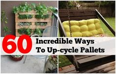 60 Awesome Ways To Reuse Wooden Pallets - Find Fun Art Projects to Do at Home and Arts and Crafts Ideas