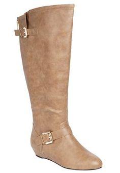 e83ee6074c3 Stevie wide-calf boot by Comfortview® Low Heel Boots