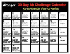 30-Day Ab Challenge