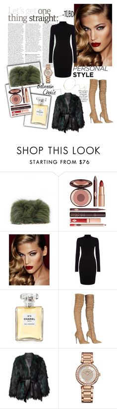 """""""The LiTTle BlaCk DreSS (TLBD)"""" by kathrin-koim on Polyvore featuring Elie Saab, Charlotte Tilbury, Phase Eight, Chanel, Roberto Cavalli, Balmain, Juicy Couture, Zoë Chicco, women's clothing and women's fashion"""