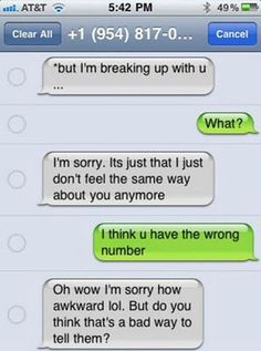 11 Brutal Text Message Breakups That Will Seriously Hurt Your Soul - Funny Troll & Memes 2019 Funny Breakup Texts, Bad Breakup, Funny Texts Crush, Funny Text Fails, Flirting Texts, Funny Text Messages, Flirting Quotes For Him, Texting, Dating Quotes