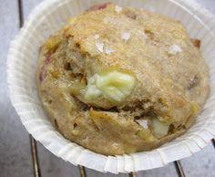 Madmuffins med brie, bacon og rosmarin