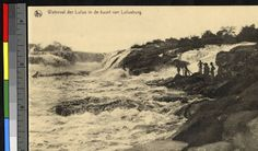 Waterfalls in the Lulua River, Congo, ca.1920-1940. http://digitallibrary.usc.edu/cdm/ref/collection/p15799coll123/id/81001