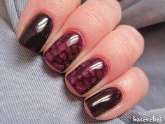 Snake skin nails - Wężowa skórka - Semilac 099, 035 - Basevehei - YouTube