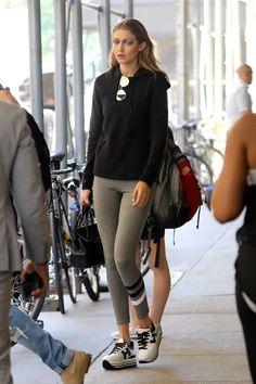 Gigi Hadid Photos - Gigi Hadid is seen out and about on July 19, 2016. - Gigi Hadid Keeps It Wild