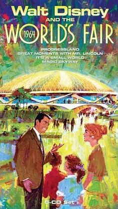 Available in: CD. Walt Disney and the 1964 World's Fair is a rare behind-the-scenes look at Walt Disney's contribution to the 1964 World's Fair. Disney Parks, Walt Disney World, Disney Pixar, Disneyland Parks, Disneyland Castle, Disneyland Photos, Disney Love, Disney Magic, Disney Stuff