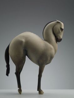 Wang Ruilin's Soulful Animal Sculptures His equine pieces are a bit more inward looking, with the horses often standing as direct representations of himself.