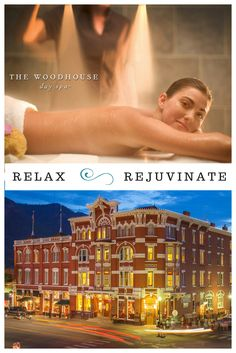 It's all about you and your partner! The historic Woodhouse Day Spa, The Woodhouse, Hotel Specials, Durango Colorado, Hotel Packages, Hotel Spa, House In The Woods, Spa Day, Business Travel