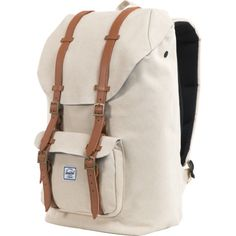 Image of Natural Little America Canvas Backpack - 1434cu in