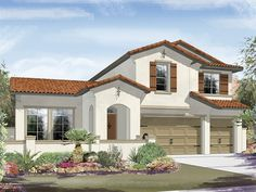 Ryland Homes Cortes A of the Capistrano community in Las Vegas, NV.