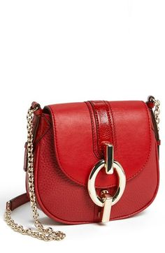 Diane von Furstenberg 'Sutra - Mini' Leather Crossbody Bag available at #Nordstrom