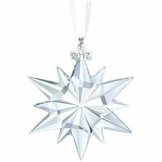 Looking for the best price on Swarovski - Annual 2017 Star Ornament? Why in the world would you shop anywhere else for Swarovski Crystal? Swarovski Christmas Ornaments, Swarovski Snowflake, Large Christmas Ornaments, Crystal Snowflakes, Snowflake Ornaments, Star Ornament, Christmas Star, Swarovski Crystals, Christmas 2017